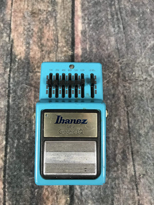 Ibanez pedal Used Ibanez 1981 GE-9 Graphic EQ Pedal- Made In Japan