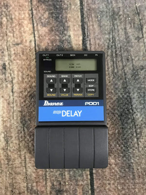 Ibanez pedal Used Ibanez Delay PDD1 Black Label Delay Pedal with Box