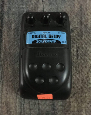 Ibanez pedal Used Ibanez Soundtank DL5 Digital Delay Pedal
