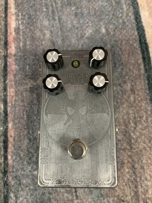 Idiotbox Effects pedal Used Idiotbox Effects Blower Box Bass Distortion Pedal