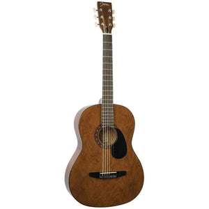 Johnson Acoustic Guitar Johnson JG-100-WL Johnson Acoustic-Walnut Finish