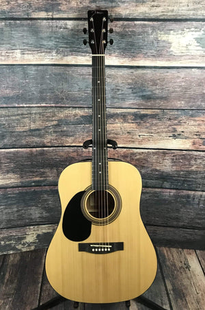 Johnson Acoustic Guitar Johnson Left Handed JG-624-N 620 Player Series Acoustic Guitar