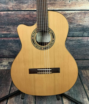 Kremona Classical Guitar Kremona Left Handed F65CW TLR Thin body Body Electric Classical Guitar