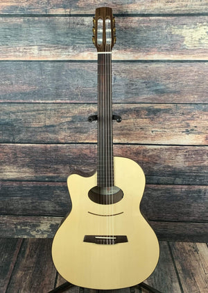 Kremona Classical Guitar Kremona Left Handed Lulo Reinhardt Damien Acoustic Electric Cutaway Nylon String Classical Guitar