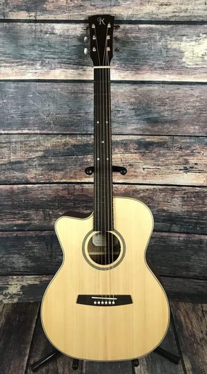 Kremona Classical Guitar Kremona Left Handed M25E Acoustic Electric Classical Guitar