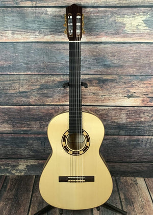 Kremona Classical Guitar Kremona Left Handed Rosa Blanca Flamenco Series Classical Guitar with Kremona Case