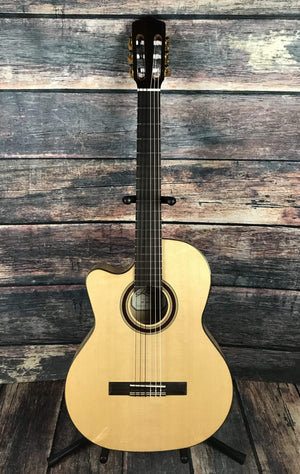 Kremona Classical Guitar Kremona Left Handed Rosa Luna Flamenco Series Acoustic Electric Cutaway Classical Guitar