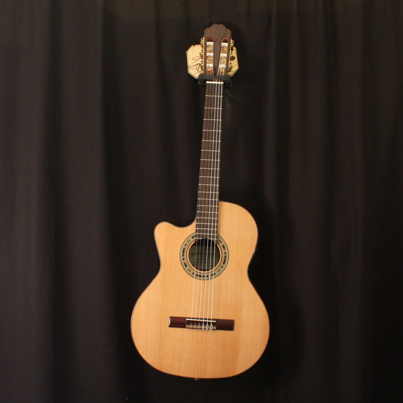 Kremona Classical Guitar Kremona Left Handed Verea Acoustic Electric Classical Guitar