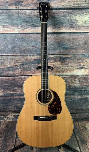 Larrivee Acoustic Guitar Used Larrivee 2014 D-40R USA made Dreadnought Acoustic Electric Guitar with Case