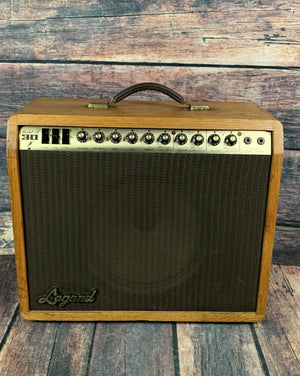 Legend Amp Used Legend Model A 30 Combo Guitar 1 x12 Oak Cab Amplifier