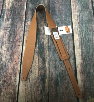 Levys strap Levys M17BL-BRN Genuine Texas Steer Hide Pebbled Leather Strap-Brown