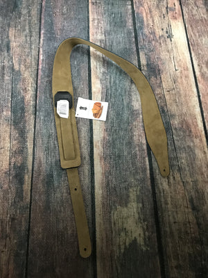 Levys strap Levys M17BLS-BLK Genuine Texas Steer Hide Pebbled Leather Strap- Black with Suede Back