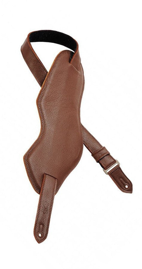 Levys Strap Levys M29 Ergonomic Bass Strap - Brown