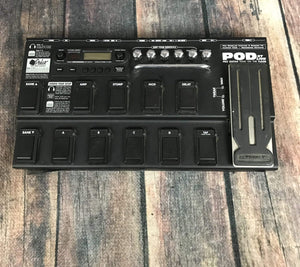 Line 6 pedal Used Line 6 POD XT Live Floor Board