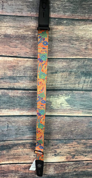 "Lock-it Straps Strap Lock-it Straps 2"" Wide Bob Masse Artist Series Strap- Summer of Love"