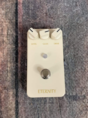 Lovepedal pedal Used Lovepedal White Eternity Distortion Pedal with Box