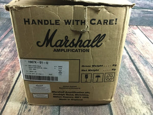 Marshall Amp Used Marshal 1987X 50w Classic Valve Super Lead Re-issue Head