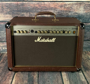 Marshall Amp Used Marshall AS50D 2x8 2-Channel 50w Acoustic Guitar Combo Amp