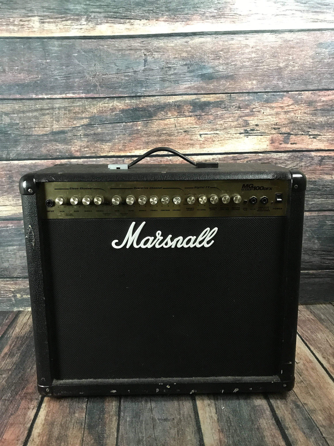 Marshall Amp Used Marshall MG100DFX Guitar Combo Amp