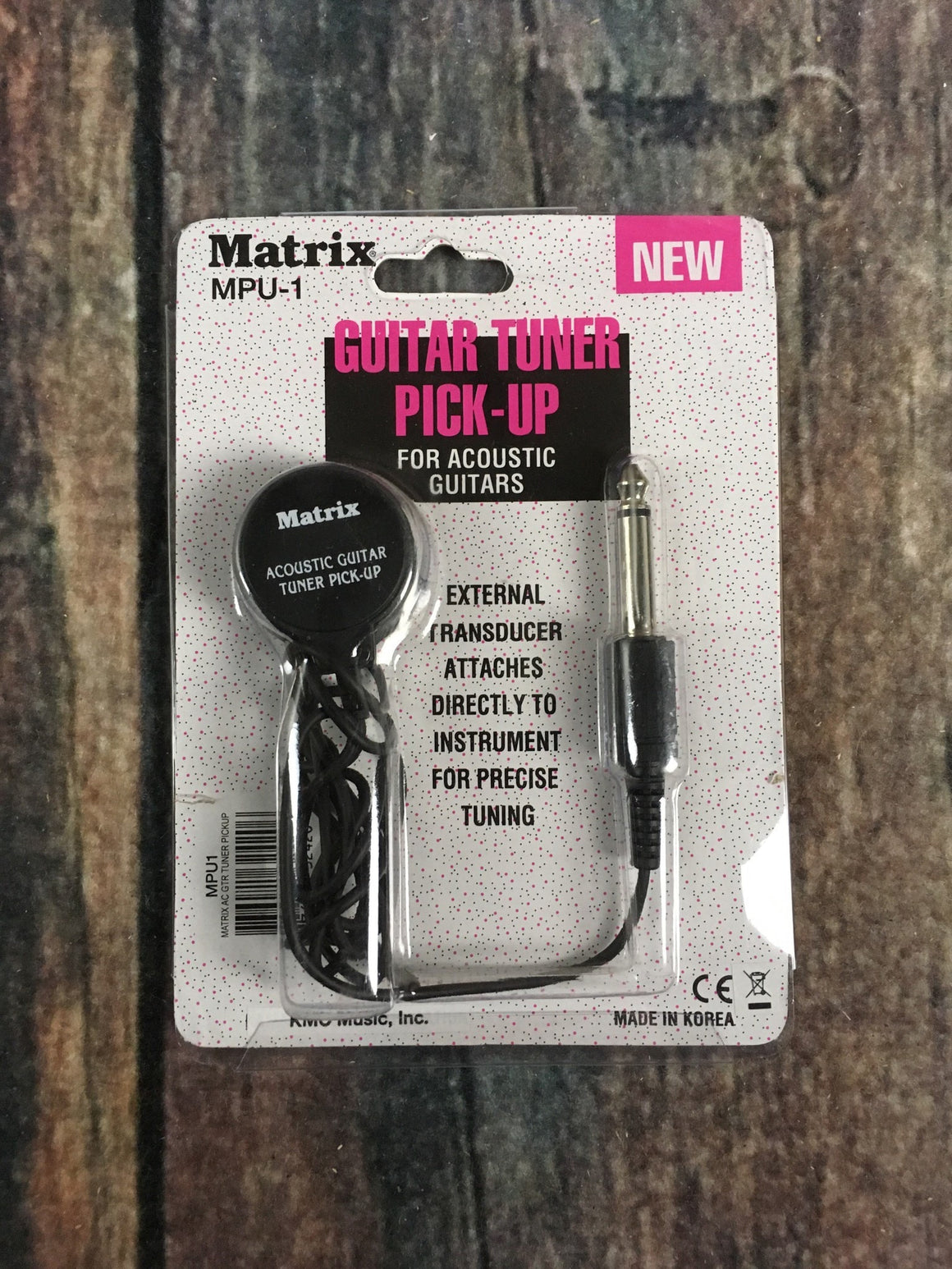 Matrix Pickup Matrix MPU-1 Guitar Tuner Pickup