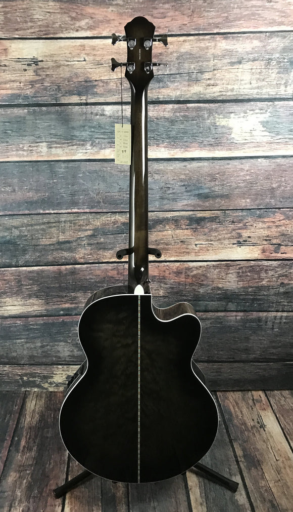 Michael Kelly Acoustic Bass Michael Kelly Left Handed Dragonfly 4 String Acoustic Electric Bass