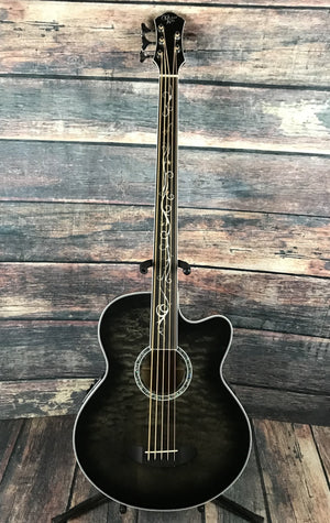 Michael Kelly Acoustic Bass Michael Kelly Right Handed Dragonfly 5 Fretless Acoustic Electric Bass