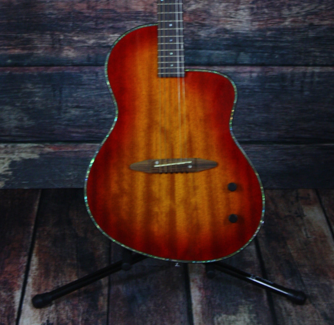 Michael Kelly Acoustic Electric Guitar Michael Kelly Right Handed Rick Turner S6 Acoustic Electric Guitar