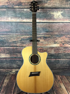 Michael Kelly Acoustic Guitar Michael Kelly Right Handed 3D Grand Auditorium Acoustic Electric
