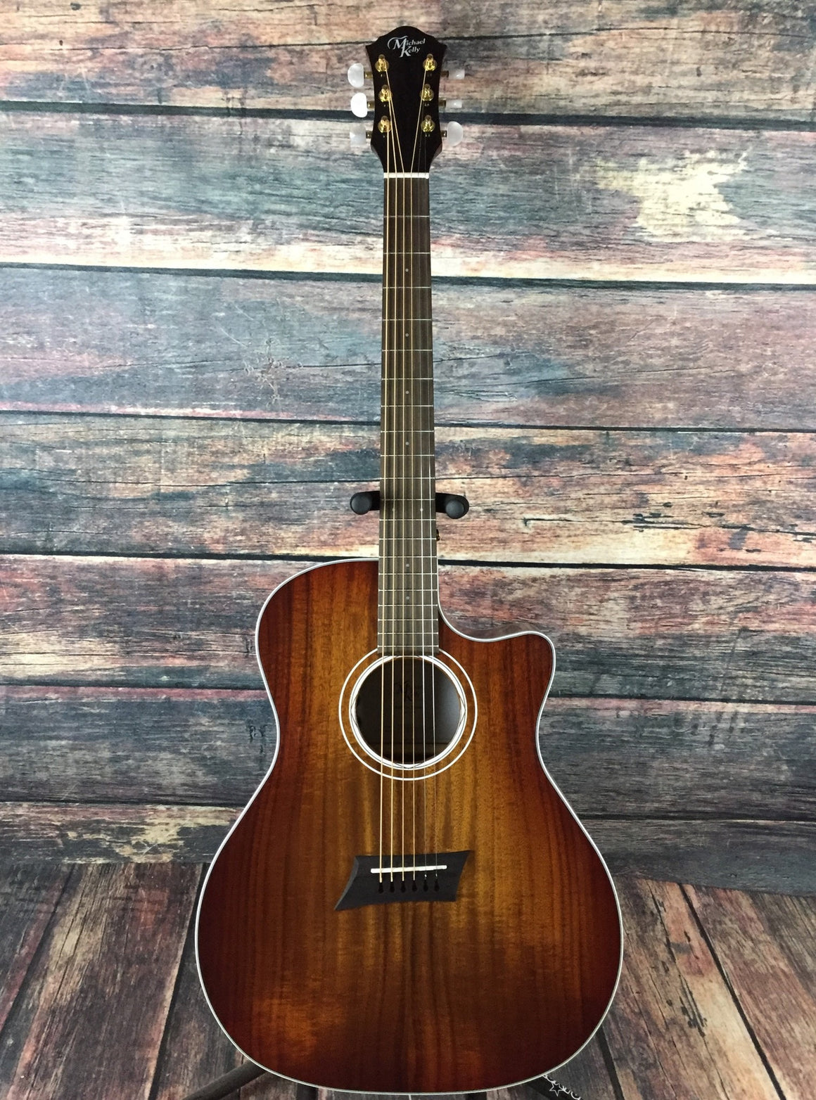 Michael Kelly Acoustic Guitar Michael Kelly Right Handed Koa Special Acoustic Electric