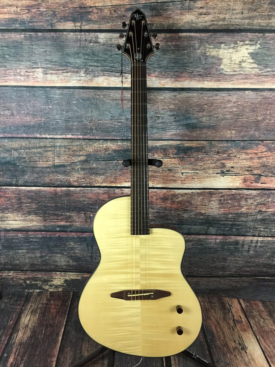 Michael Kelly Acoustic Guitar Michael Kelly Right Handed RIck Turner S6 Acoustic Electric Guitar - Flamed Natural