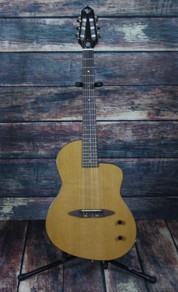 Michael Kelly Classical Guitar Michael Kelly Right Handed Rick Turner N6 Classical Nylon String Acoustic Electric Guitar