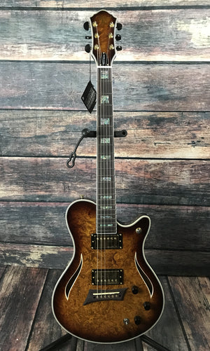 Michael Kelly Electric Guitar Guitar Only Michael Kelly Right Handed Hybrid Special 10th Anniversary Acoustic Electric Guitar