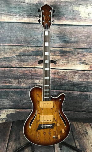 Michael Kelly Electric Guitar Michael Kelly Hybrid Special Electric/Acoustic Guitar- Spatled Burst