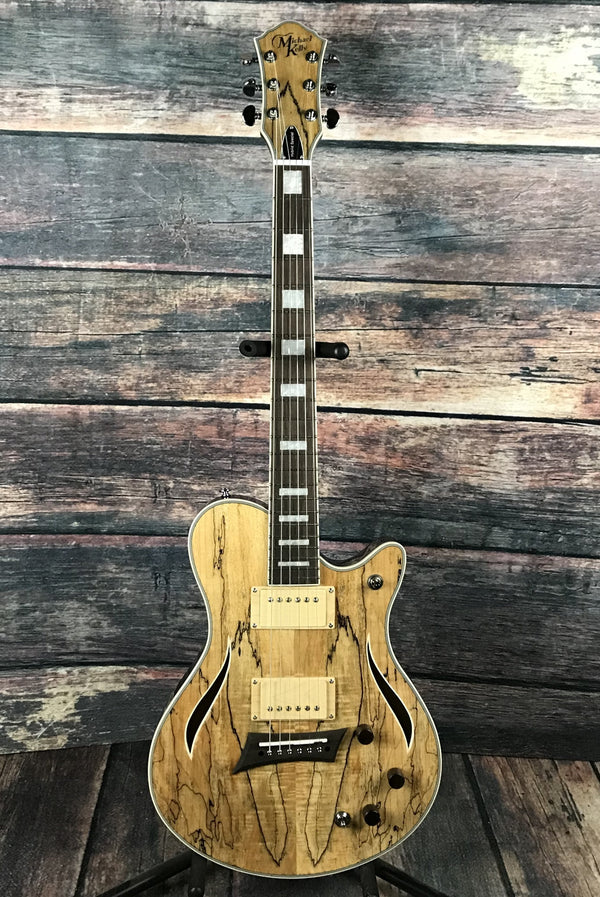 michael kelly hybrid special spalted electric guitar. Black Bedroom Furniture Sets. Home Design Ideas