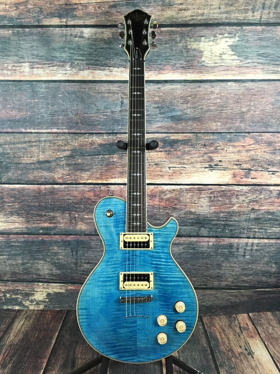 Michael Kelly Electric Guitar Michael Kelly Right Handed Patriot Decree Electric Guitar- Coral Blue