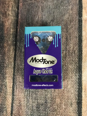 Modtone pedal Used ModTone Aqua Chorus Pedal with Box