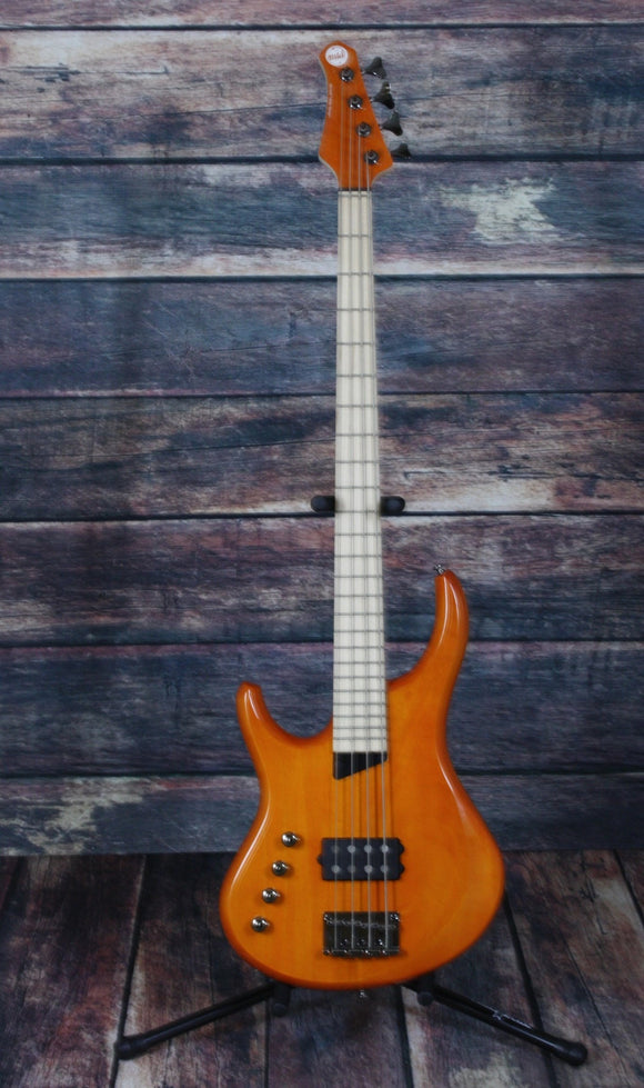 MTD Electric Bass Bass Only MTD Left Handed Artist 4 String Electric Bass