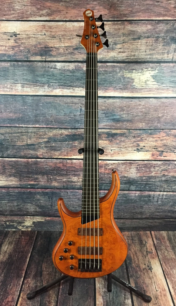 MTD Electric Bass Bass Only MTD Left Handed Kingston Z5  Electric 5 String Bass- Rosewood Neck