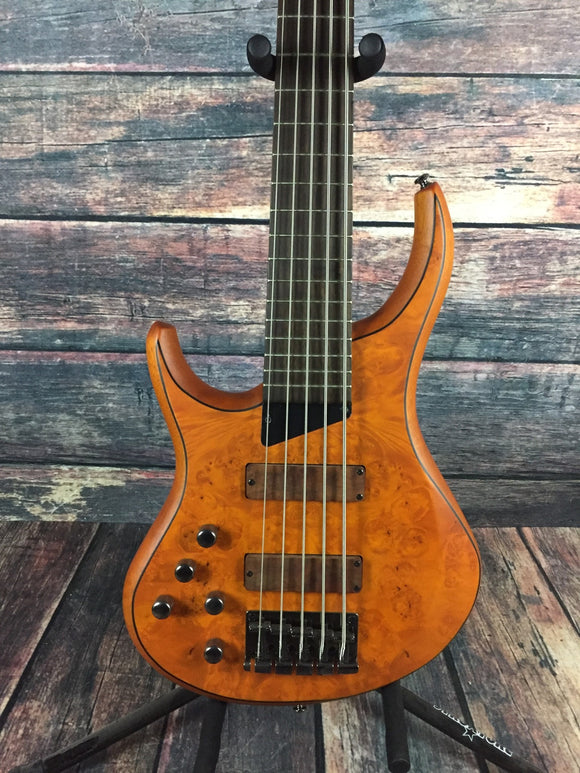 MTD Electric Bass MTD Left Handed Kingston Z5  Electric 5 String Bass- Rosewood Neck