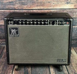 "Musicman Amp Used Music Man 112 RD Sixty-Five 65-Watt 1x12"" Guitar Combo with Footswitch"