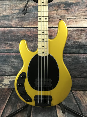 Musicman Electric Bass Ernie Ball Music Man Left Handed StingRay Classic 4 - Firemist Gold