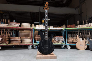 Musicman Electric Bass Music Man BFR Ball Family Reserve Stingray Special H Limited Edition 4 String Electric Bass Guitar - Hades Black