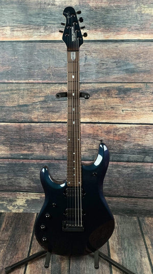 Musicman Electric Guitar With Hard Shell Case Ernie Ball Music Man Left Handed John Petrucci JP6 Mystic Dream w/ Piezo Electric Guitar