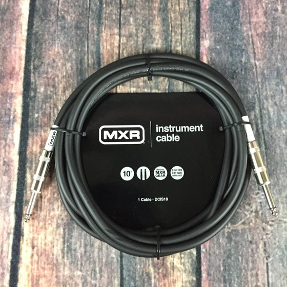 MXR Cable MXR DCIS10 10ft Straight to Straight Instrument Cable