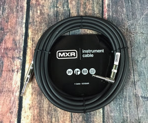 MXR Cable MXR DCIS20R 20ft Straight to Right Angle Instrument Cable