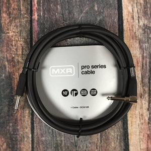 MXR Cable MXR DCIX10R Pro Series 10ft straight to Right Angle Instrument Cable
