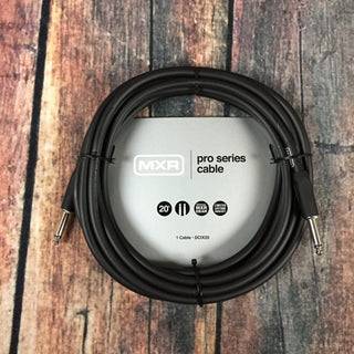 MXR cable MXR DCIX20 Pro Series 20ft Straight to Straight Instrument Cable
