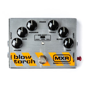 MXR pedal MXR M181 Blow Torch Distortion Pedal