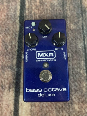 MXR pedal Used MXR Bass Octave Deluxe Bass Effect Pedal