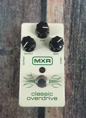 MXR pedal Used MXR Classic Overdrive Pedal